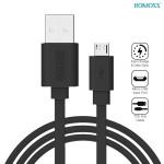 Кабель Romoss Micro-USB CB05f плоский черный