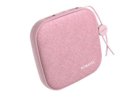 Внешний аккумулятор Romoss LC10 Candy Box 10000 mAh Розовый