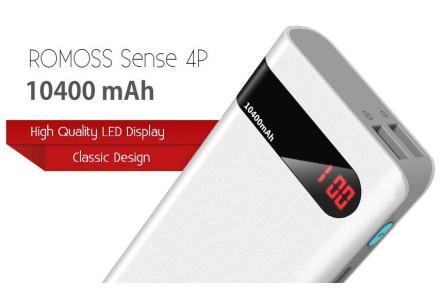 Внешний аккумулятор Romoss sense 4P 10000 mAh
