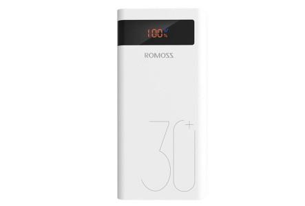 Внешний аккумулятор Romoss sense 8P+ 30000 mAh