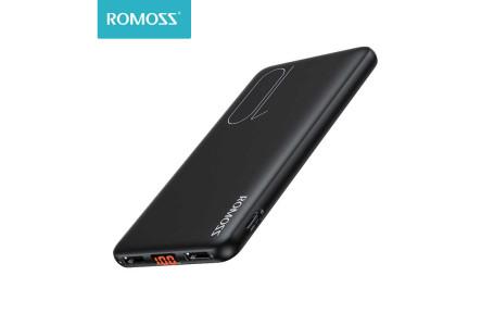 Внешний аккумулятор тонкий Romoss Slim10 (PSP10) 10000 mAh